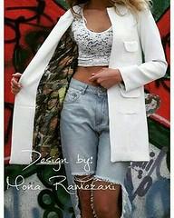 #112 #فروشی ۴۳٠ تومان(آنلاین ۳۹٠ تومان) #پالتو پاييزه لایی كشی شده و آستردار #سفيد #مشكی سايز ٣٤ تا ٤٢ @mantosale @mantoforushichannel (zarifi.clothing) Tags: manto lebas مانتو پوشاک لباس مزون زیبا قشنگ