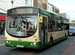 20161021 Blackpool 524 bus (blackpoolbeach) Tags: blackpool bus 524 talbot road livery elusive transport