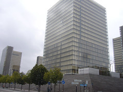 Things I see while riding my bike around Paris 666 (Rick Tulka) Tags: paris architecture building bibliothquenationaledefrance library nationallibrary books