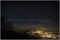 Orion Constellation (effeottoinfinito.wordpress.com) Tags: varese fog landscape night constellation orion italy season weather campodeifiori