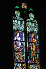 Royals in stained glass (quinet) Tags: 2014 belgium bruges ghent glasmalerei stainedglass vitrail antwerp flanders