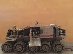 Lego Star Wars Custom Clone Turbo Tank Juggernaut (schmidtproject) Tags: lego star wars custom clone clones turbo tank turbotank juggernaut huge big set sets epic