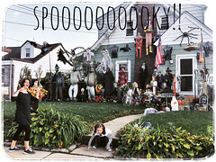spooky neighborhood (domit) Tags: helena domit ella spooky halloween lynbrook usa newyork