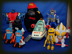 Finds at work... (harrycobra) Tags: toys vintage playmobil 80s 90s thrift find