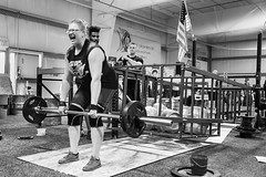 Muscular (coyote86) Tags: coyote86 coyoteimages strong woman competition 2016 strongwomancompetition molly lifting weight weightlifting blackandwhite blackwhite black white bw maine portland portlandmaine muscles strength muscular
