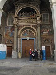 Aosta. Il portale della Cattedrale. (sangiopanza2000) Tags: aosta valledaosta italia italy sangiopanza viaggio travel portale chiesa church