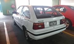 Hyundai Excel (FotoSleuth) Tags: hyundai excel