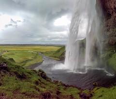 Behind Seljalandsfoss Waterfall  2 (TheSimonBarrett) Tags: iceland lveldi sland seljalandsfoss waterfall