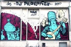 Chez DJ Prokofiev by #retro #retrograffitism #ortopark #137  #streetart #graffiti #graff #spray #bombing #wall (pourphilippemartin) Tags: retro retrograffitism ortopark 137 streetart graffiti graff spray bombing wall