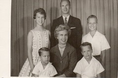Family home from Brazil (Mikkelfest) Tags: july 4th 1961 magaret marcia craig kent rob robert duane