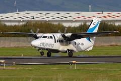 OK-UBA (GH@BHD) Tags: okuba let let410 turbolet l410 citywing vanaireurope bhd egac belfastcityairport airliner aircraft aviation turboprop