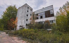 Random Zone Externals (Chernobyl Exclusion Zone)_3 (Landie_Man) Tags: none externals pripyat chernobul chernobyl the zone radiation radioactive disused ionising abanoned forgotten ukraine outside photos buildings soviet ussr cccp ccpp ccp