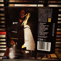 "Disco del giorno Throttle Elevator Music ""IV"" with Kamasi Washington, thanks to @fonoteca_napoli #throttleelevatormusic  #kamasiwashington #musicoftheday #discoftheday #collector #jazz #jazzpunk #punkjazz #digipack #cd #widehiverecords #mikehughes #mattmo"