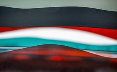 Mystery Sea (jaxxon) Tags: 2016 d610 nikond610 jaxxon jacksoncarson nikon nikkor nikon105mmf28gvrmicro nikkor105mmf28gvrmicro 105mmf28gvrmicro 105mmf28 105mm f28 28 f28g afs vr macro micro prime fixed lens abstract abstraction layers colors color waves wave dof depthoffield focus bokeh lines red teal blue white