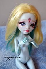 Mermaid Tears (Puppet Tales Dolls) Tags: lagoonablue lagoona blue monster high monsterhigh custom customization ooak doll ooakdoll repaint dollrepaint mermaid
