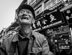 one to go (Rob-Shanghai) Tags: teeth old oneleft leicaq leica china jinan funny laugh