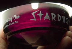Classic Black Amethyst Stardust Casino Ashtray. Hotel Country Club Las Vegas, NV - 007 (kocojim) Tags: hotel glass blackamethyst casino kocojim ebay lasvegas nv stardust advertising smoking nevada ashtray round strip tobacco