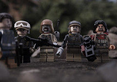 Now let me see your war face (tomtommilton) Tags: lego legography toy toyphotography macro starwars rogueone cassian andor jyn erso pao baze malbus rebels soldiers war movie angry fullmetaljacket hartman