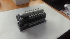 GENERADOR DIESEL 1 0 (green helmet spanish AFOL) Tags: lego submarine cylinder v16 generator diesel