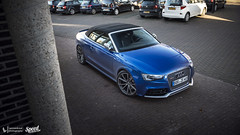 Aud RS5 Convertible (Lennard Laar) Tags: audi rs5 a5 cabrio cabriolet sepang blue audirs rs german car cars sport sportscar carspotting carsighting netherland winterswijk nikon d750 tamron 2470 f28 lennard laar lennardlaar photography speed generation speedgeneration autumn 2016 outdoor