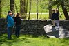 Taking Photos Of The Grandchildren At Storm King (Joe Shlabotnik) Tags: wall verne 2016 violet sue takingphotos stone stormking everett may2016 nancy afsdxvrzoomnikkor18105mmf3556ged