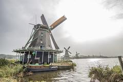 IMG_9511 (digitalarch) Tags: netherlands zaanse schans zaanseschans    windmill