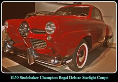 1950 Studebaker Champion Regal Deluxe Starlight Coupe (PictureJohn64) Tags: auto heritage classic car museum automobile driving traffic deluxe famous den transport champion hague collection commercial transportation historical studebaker haag coupe 1950 collectie regal fahrzeug oto starlight historisch verkeer vervoer klassiek  samochd beroemd gravenhage otomobil louwman automobiel worldcars  automoviel klassiesch
