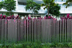 Fence, Reflections at Keppel Bay, Singapore (varlamov) Tags: fence reflections singapore libeskind wicket keppelbay
