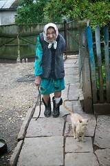 Village Baba (yuri lev 1) Tags: cat village ukraine oldwoman ukrainian baba