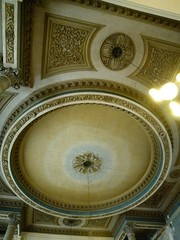St Anne's Church, Limehouse: ceiling (John Steedman) Tags: uk greatbritain england london church unitedkingdom ceiling stannes limehouse grossbritannien     grandebretagne stanneschurch