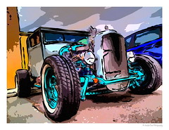 Hot Rod For The Ages (SmokinToast) Tags: show camera travel family blue light sunset wallpaper portrait usa sun abstract newmexico santafe southwest flower color sexy art love nature strange beautiful rose composition america canon painting landscape weird photo spring cool interesting flora friend perfect colorful paint dof shot dynamic heart skin sweet bokeh pastel toast awesome alien cartoon scenic picture brush romance canvas explore odd photograph american tulip oil romantic 5d smokin iphone compose ipad coolshot 2013 snapart pictureperfect markii