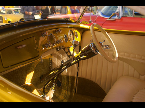 1936 Ford Roadster Interior