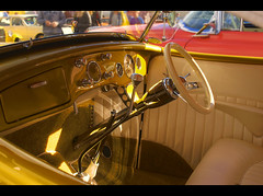 1936 Ford Roadster Interior (54 Ford Customline) Tags: cars 1936 interior rockabilly dashboard rocknroll hdr hotrods customs psychobilly cs6 kustomkulture ferntreegullyhotel 36ford 1936fordroadster kustomkulturemeltdown