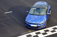 Volkswagen Scirocco at the track (TRC OFF) Tags: racetrack volkswagen track scirocco risingblue