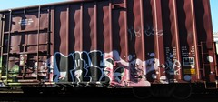 TRE (YardJock) Tags: train graffiti boxcar freight nsf
