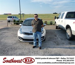 Southwest Kia of Dallas would like to wish a Happy Birthday to Joel Rodriguez! (Southwest Kia Dallas) Tags: new southwest car sedan truck wagon happy dallas texas tx used vehicles mesquite bday dfw kia van suv coupe rockwall dealership hatchback dealer customers minvan 4dr metroplex shouts 2dr preowned