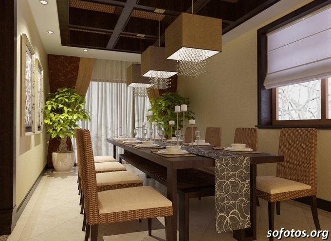Salas de jantar decoradas (136)