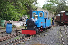 Bunty & Clive at The Heatherslaw Light Railway (turbostar171) Tags: train diesel steam etal heatherslaw
