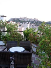104 - Acropolis from roof top (Scott Shetrone) Tags: other events places athens parthenon greece monuments acropolis 5th anniversaries hotelattalos