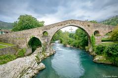 Puente Romano (LRCAN) Tags: españa rio puente nikon asturias romano sella piedra cangasdeonis lorcan cangasdeonís d90 2013 principadodeasturias lorcanpictures