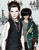 True Adam (Nadine Gomes) Tags: pink adam twilight doll label barbie sage lambert saga emmett collector the obitsu