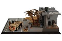Deception Side (Andreas) Tags: lego military apc thepurge legodiorama legoapoc desertapoc thepurgeusa infiltrationdiorama legosnotroad