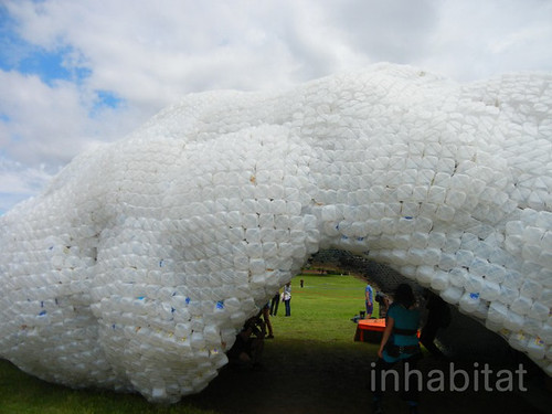 Head in the Clouds Plastic Bottle Pavilion