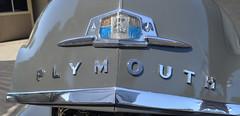 Plymouth Badge (earthdog) Tags: car word logo nikon plymouth badge hood pleasanton carshow 2013 afsdxvrzoomnikkor1855mmf3556g d5100 nikond5100