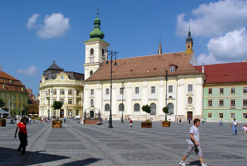 Hermannstadt / Sibiu - Hungarian church