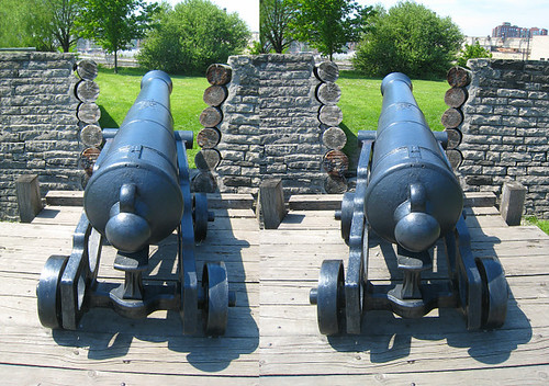 Toronto - Fort York Cannon (3 of 3) 3D Stereogram