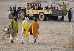 Leaving for the Party ! (Commoner28th) Tags: pakistan party music festival drums village folk culture desi gathering punjab drummers mela commoner28th gettyimagesmiddleeast