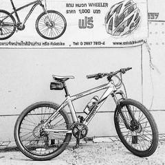 ภาพลายเส้น #mountainbike