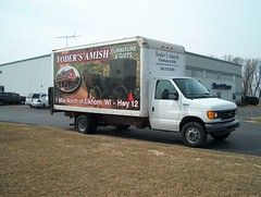 Truck Wrap - SIGNARAMA Janesville, WI - Yoder's Amish