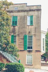 Savannah (g_gagliano) Tags: door trees architecture stairs buildings georgia doors theatre south cemetary southcarolina charm charleston southern carolina savannah